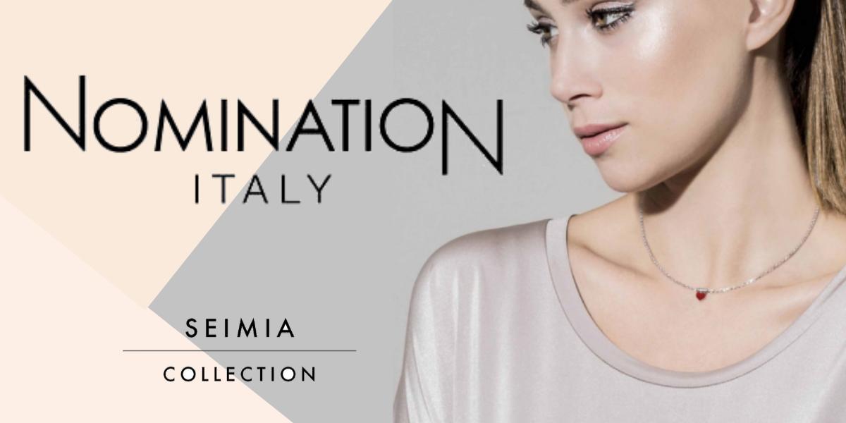 nomination italy - seimia collection - sleek pendant - heart themed jewellery