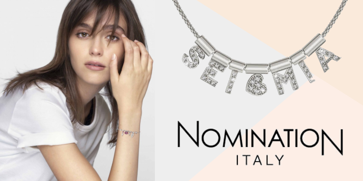 nomination italy - seimia collection -  heart themed jewellery - studded jewellery