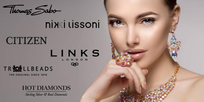gemstone - rhinestone - studded - ring - earrings - necklace