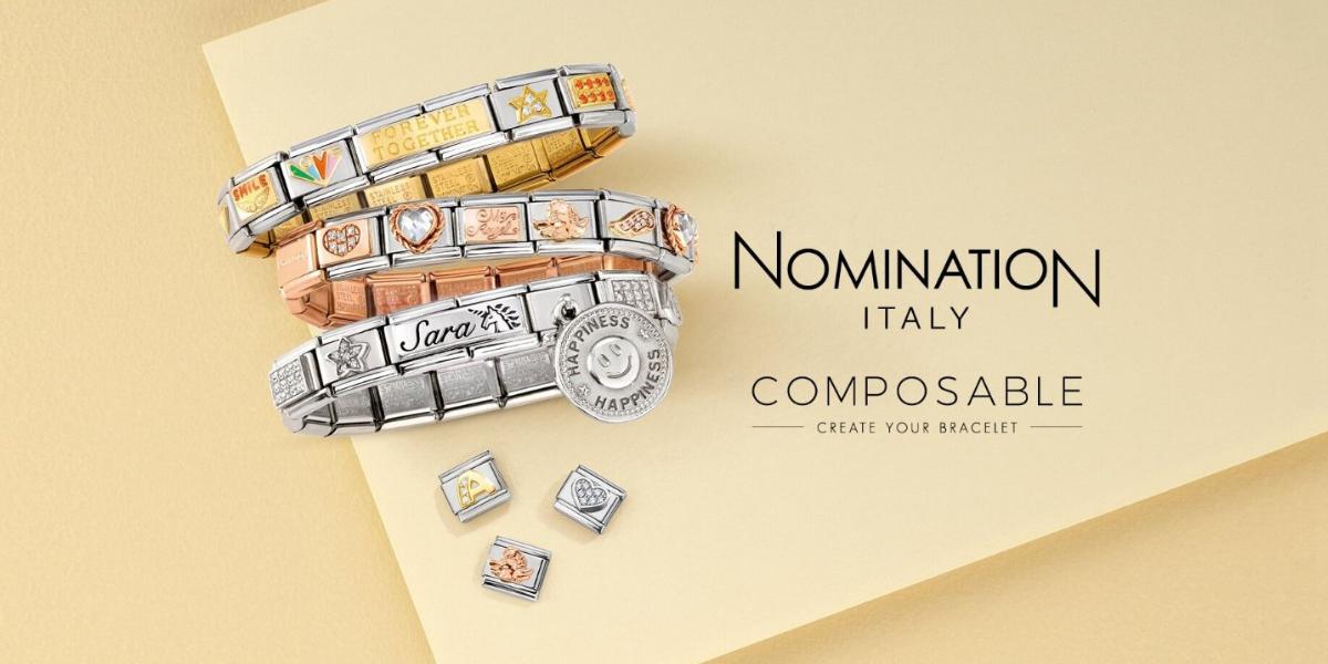 nomination italy - composable bracelets - create your own bracelet