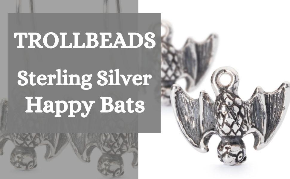 Trollbeads - Trollbeads Jewellery - Halloween - Sterling Silver Jewellery - Bat Themed Jewellery