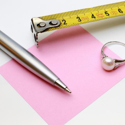 Measuring ring size