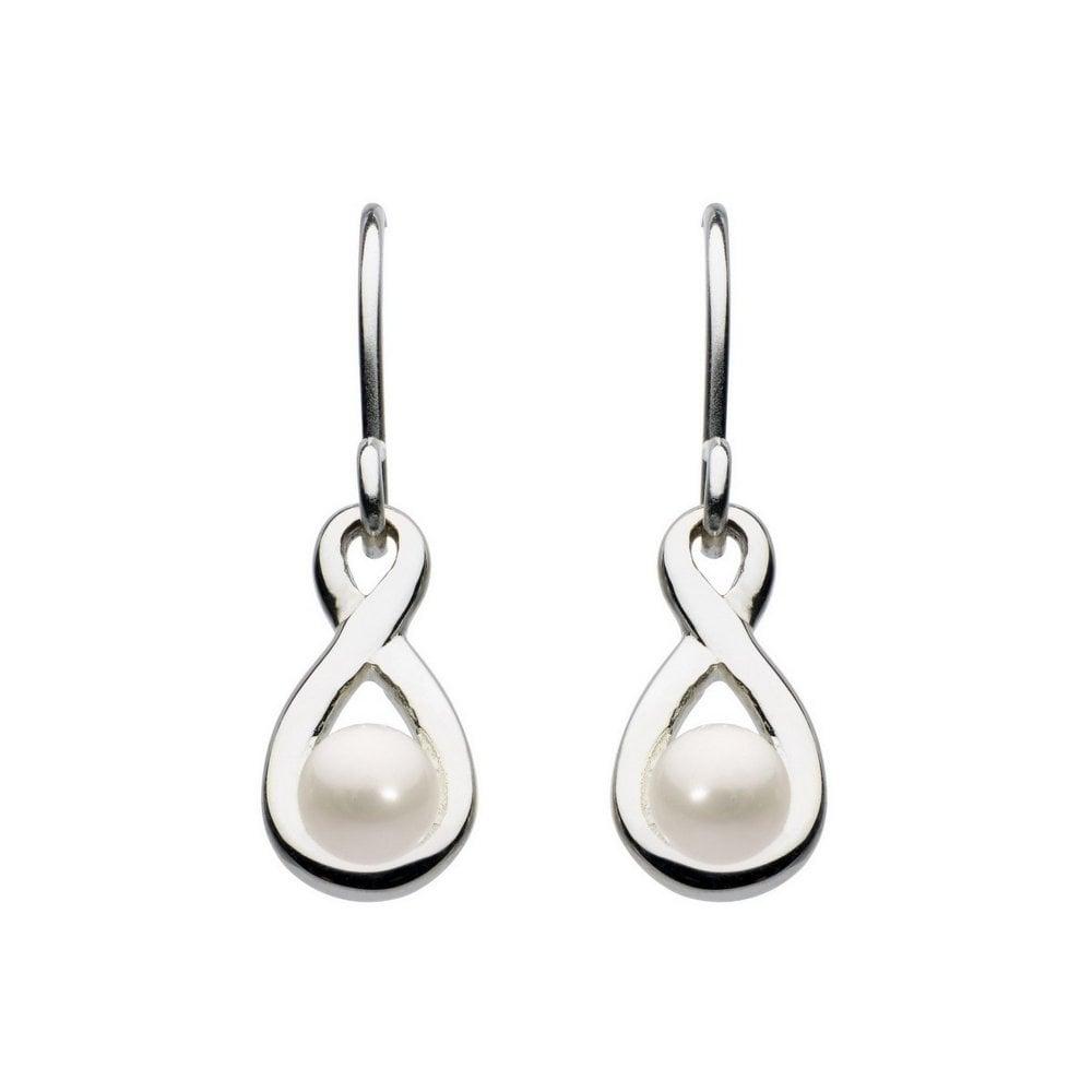 Pear Drop Earrings in Sterling Silver