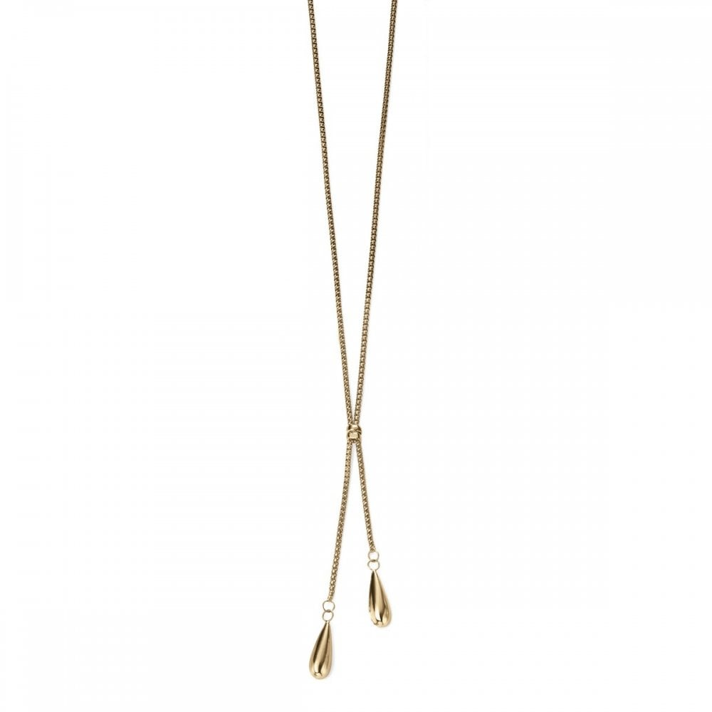 /'Elements Gold/' 9ct Yellow Gold infinity necklace GN231